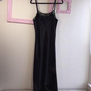 Oscar de la Renta Pink label night gown, velvet
